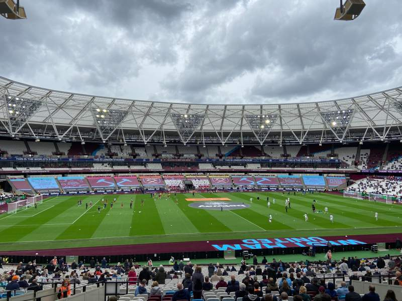 Seating view for London Stadium Section 234 Row 35