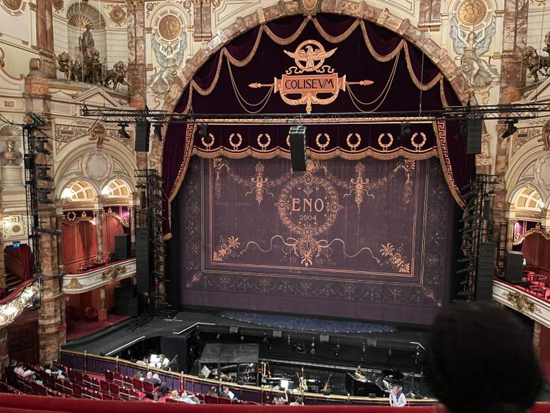 Seating view for London Coliseum Section Upper Circlee Row B Seat 22