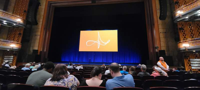 Seating view for Walt Disney Theatre - Dr. Phillips Center Section Lower Orchestra C Row G Seat 116