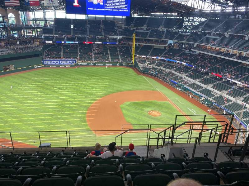 Seating view for Globe Life Field Section 306 Row 9 Seat 25