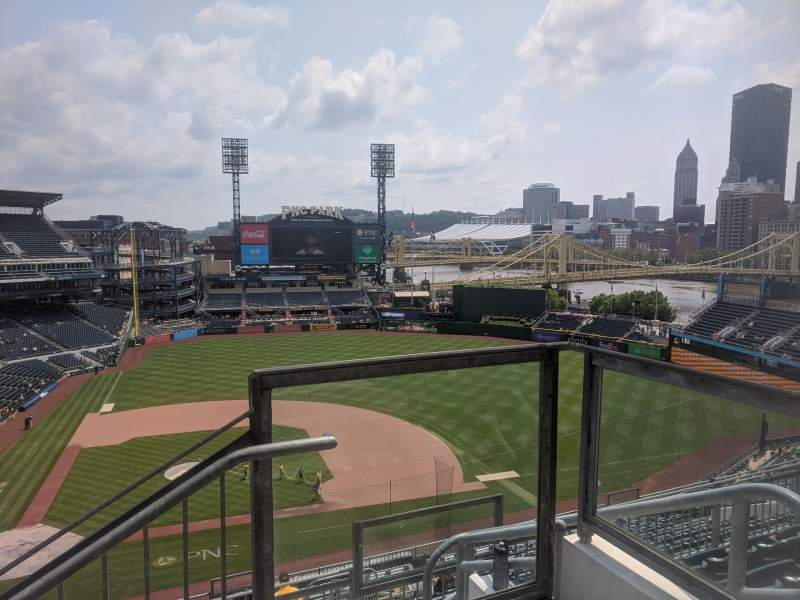Seating view for PNC Park Section 311 Row H Seat 1