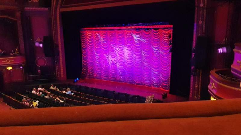 Seating view for Mayflower Theatre Section Circle Row A Seat 8