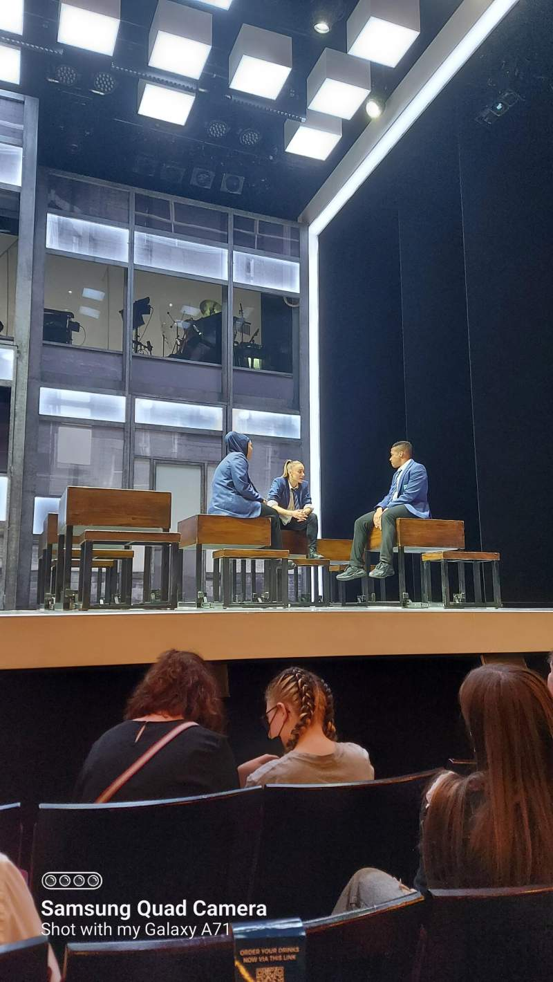 Seating view for Apollo Theatre Section Stalls Row E Seat 13
