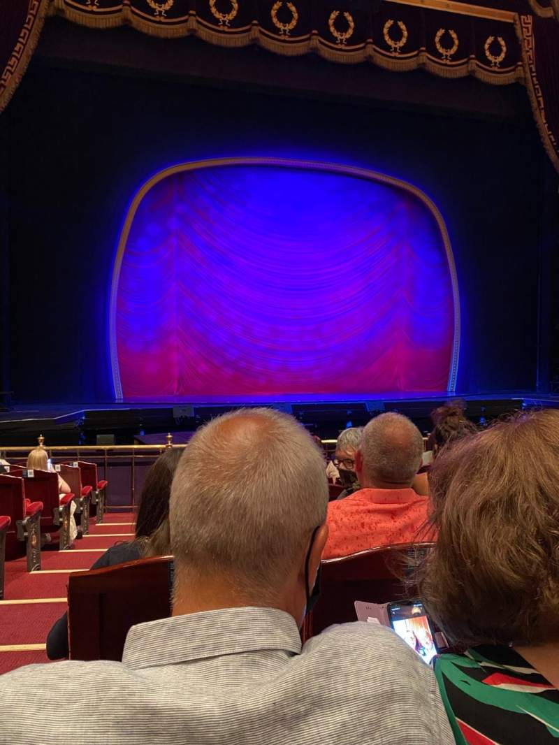 Seating view for London Coliseum Section Stalls Row K Seat 28