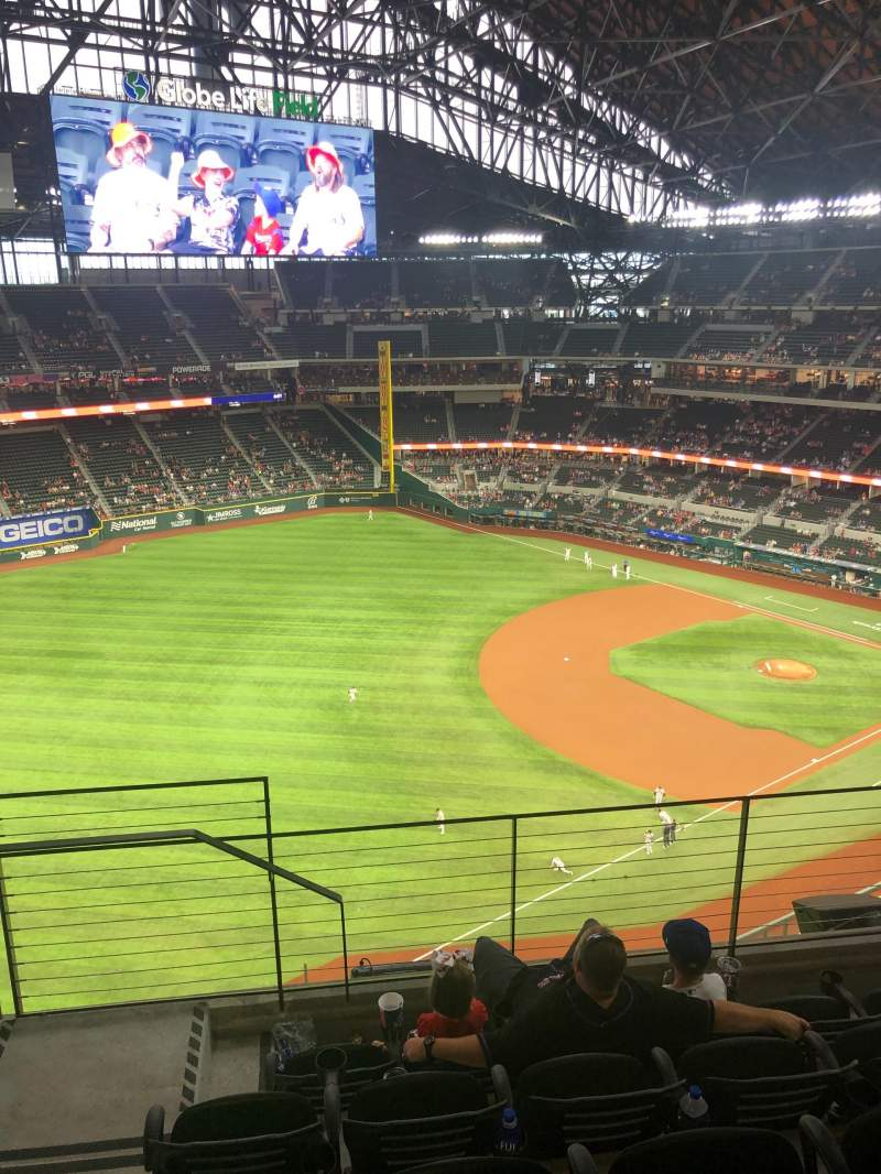 Seating view for Globe Life Field Section 302 Row 5 Seat 4