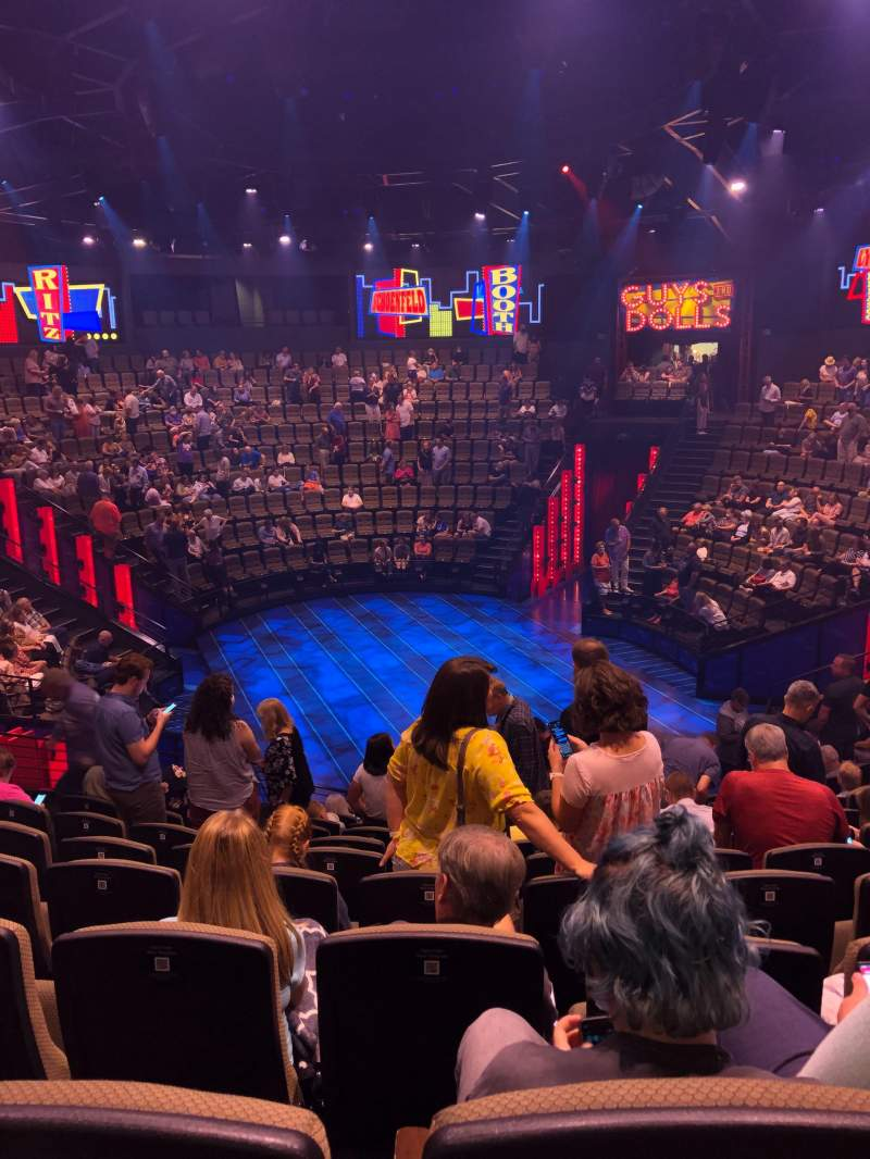 Seating view for Hale Centre Theatre Section South Row 10 Seat 19