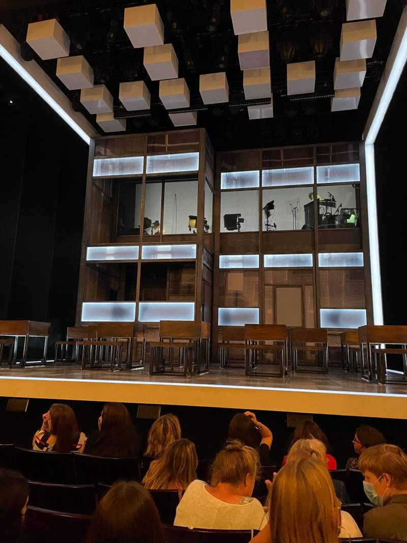 Seating view for Apollo Theatre Section Stalls Row G Seat 7