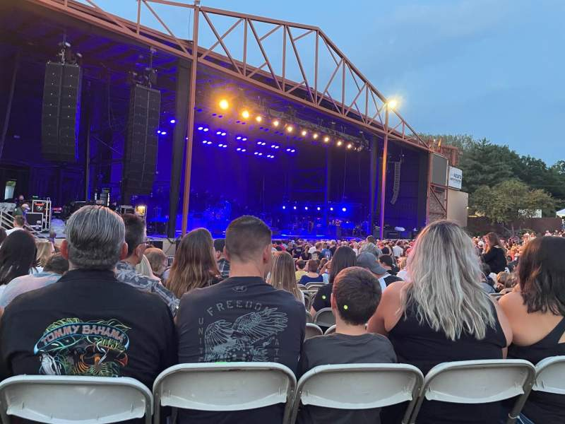 Seating view for Providence Medical Center Amphitheater Section 5 Row V Seat 15