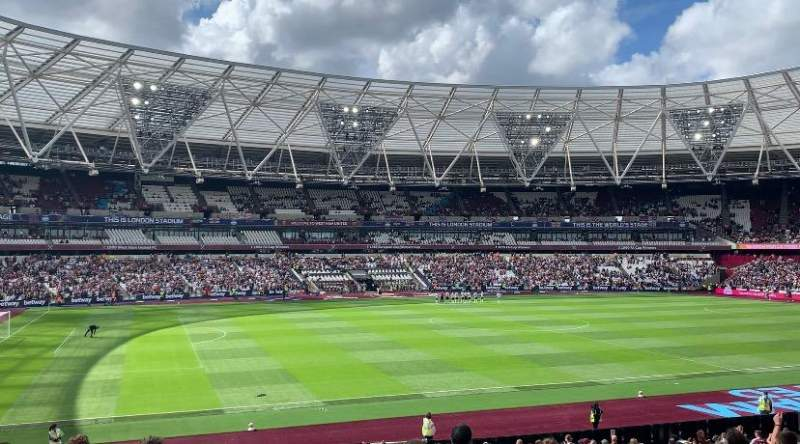 Seating view for London Stadium Section 133 Row 32 Seat 340