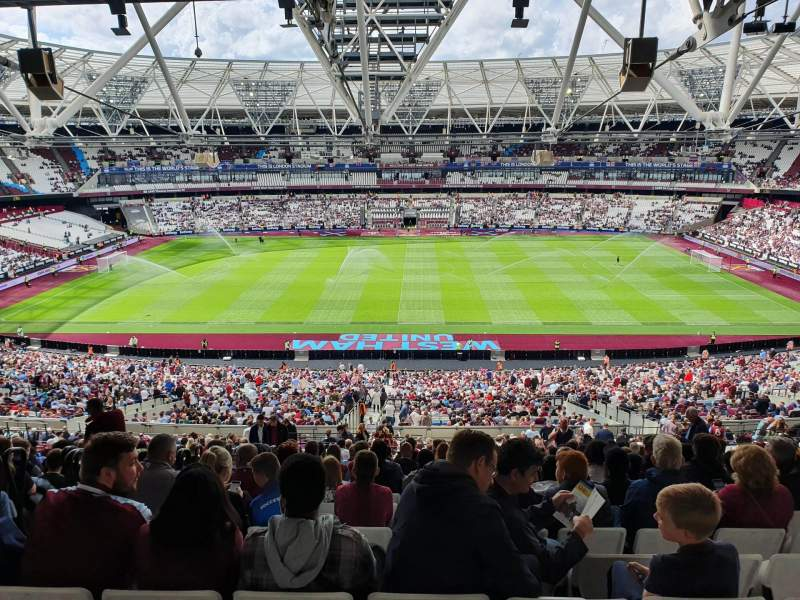 Seating view for London Stadium Section 236 Row 62 Seat 425