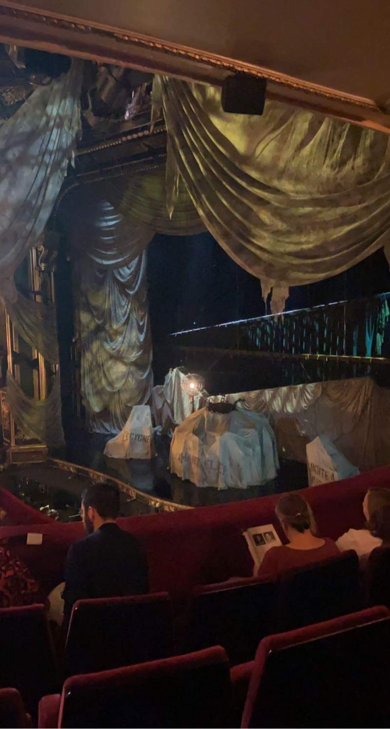 Seating view for Her Majesty's Theatre Section Royal Circle Row D Seat 5