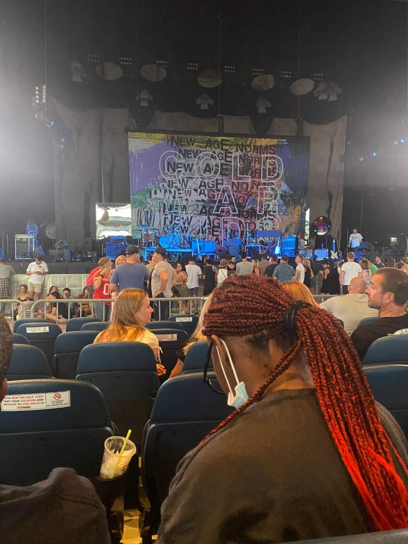 Seating view for PNC Music Pavilion Section 2 Row P Seat 26