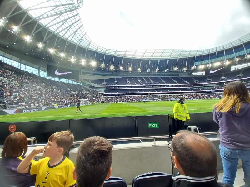 Seating view for Tottenham Hotspur Stadium Section 123 Row 3 Seat 722