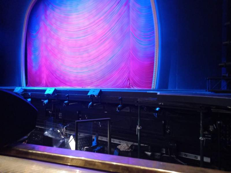 Seating view for London Coliseum Section Stalls Row A Seat 1