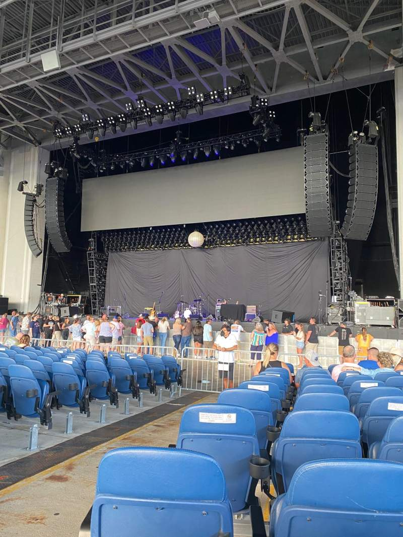 Seating view for PNC Music Pavilion Section 1 Row U Seat 40