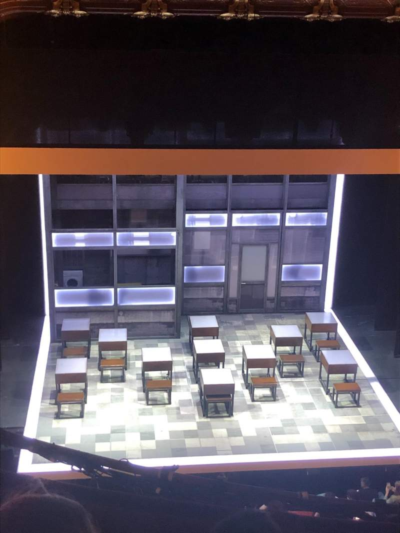 Seating view for Apollo Theatre Section Grand Circle Row D Seat 16
