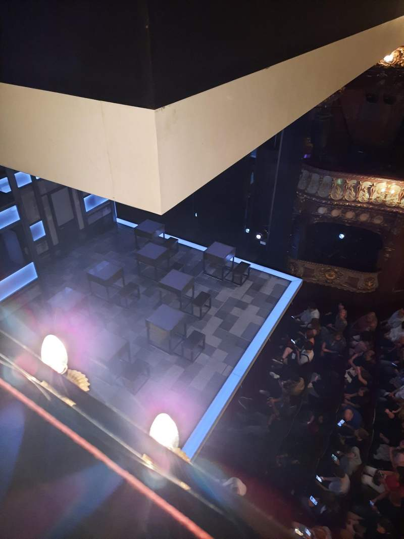 Seating view for Apollo Theatre Section Box C1