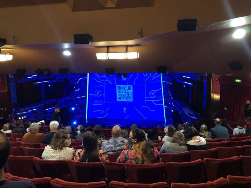 Seating view for Adelphi Theatre Section Dress Circle Row O Seat 10
