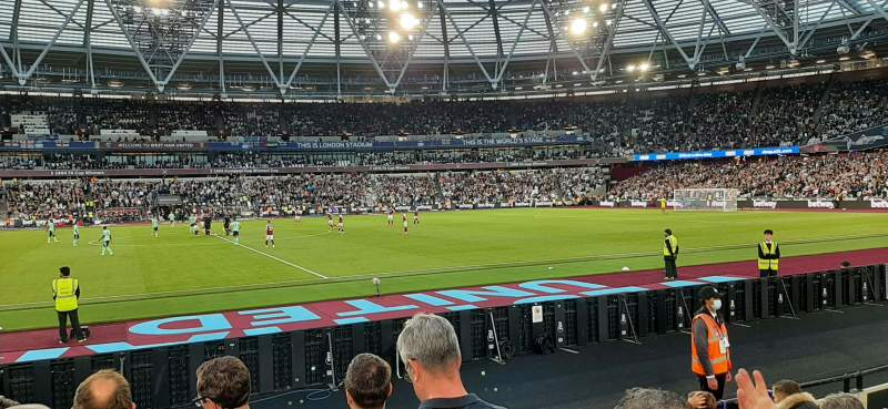 Seating view for London Stadium Section 135 Row 7 Seat 273