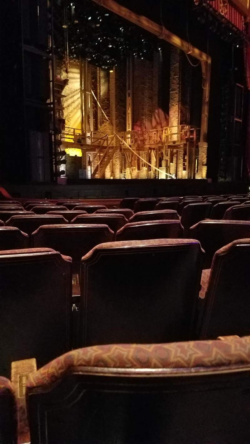 Seating view for Fox Theatre (Atlanta) Section Orchestra L Row K Seat 9