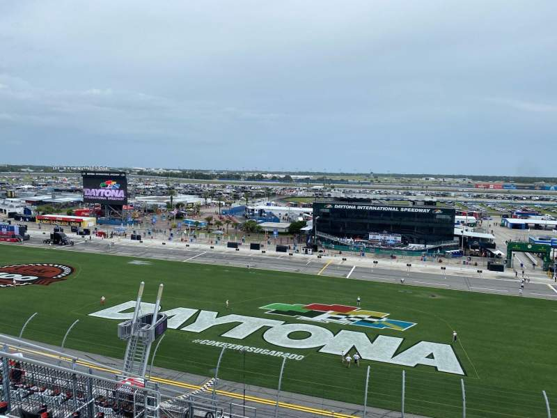 Seating view for Daytona International Speedway Section 353 Row 16 Seat 17