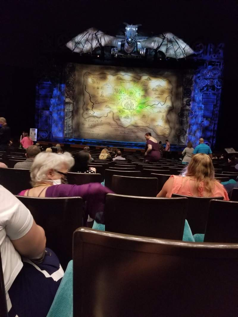 Seating view for Music Hall at Fair Park Section D-Orch Row T Seat 5 and 6