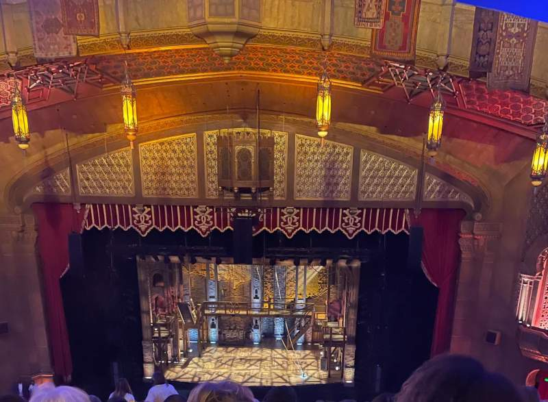 Seating view for Fox Theatre (Atlanta) Section Dress Circle Right A Row K Seat 110