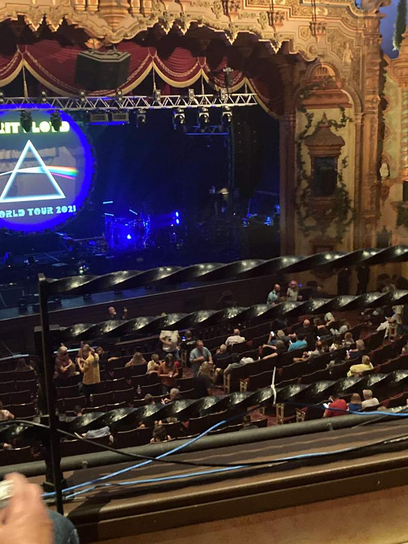 Seating view for Akron Civic Theater Section Loge-1 Row B Seat 1