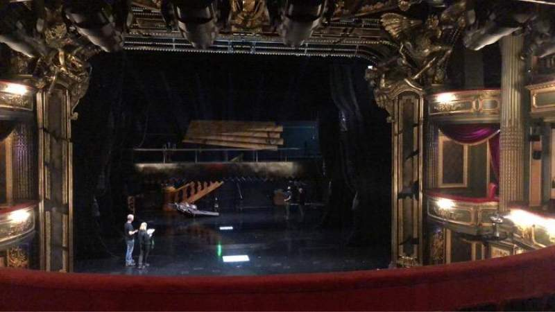 Seating view for Her Majesty's Theatre Section Royal Row E Seat 23