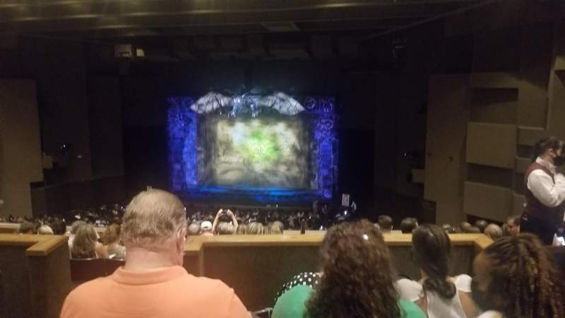 Seating view for Music Hall at Fair Park Section DD-bal Row K Seat 2
