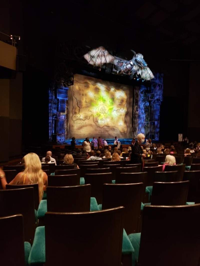 Seating view for Music Hall at Fair Park Section F-Orch Row R Seat 8
