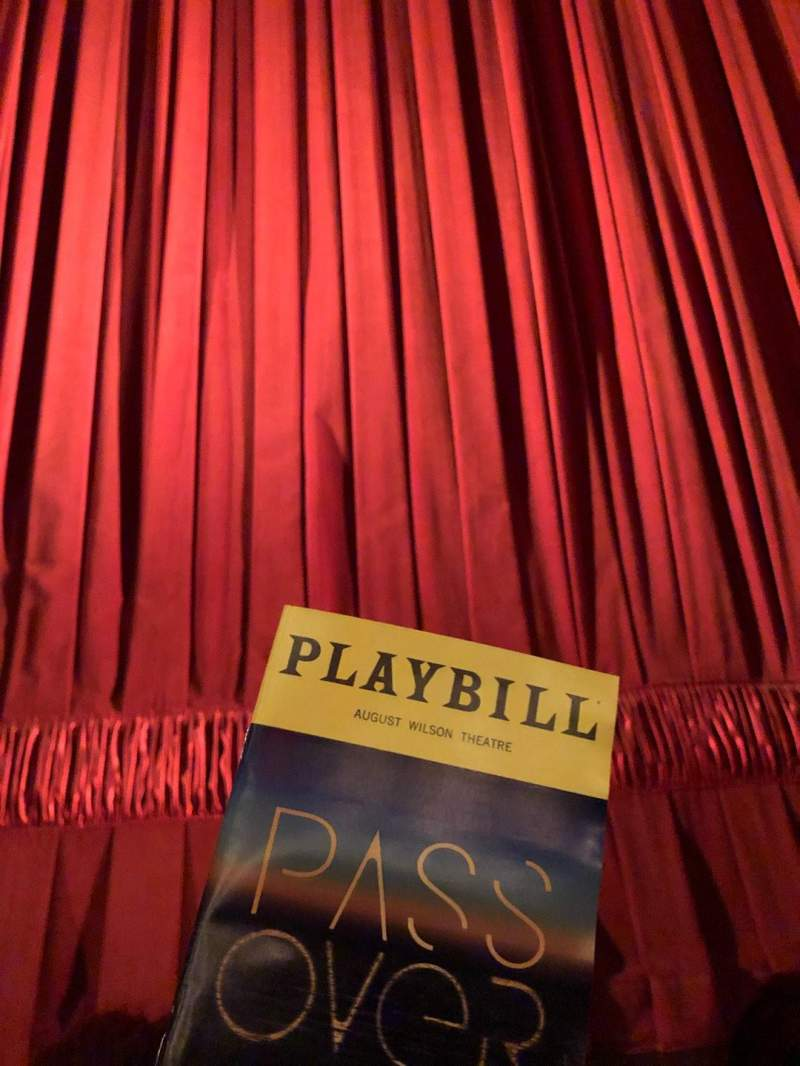 Seating view for August Wilson Theatre Section Orchestra C Row AA Seat 107