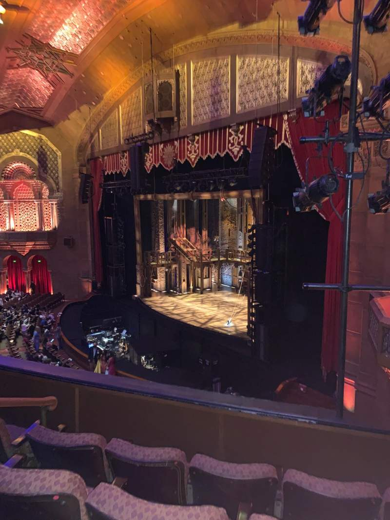 Seating view for Fox Theatre (Atlanta) Section Loge Right F Row DD Seat 46