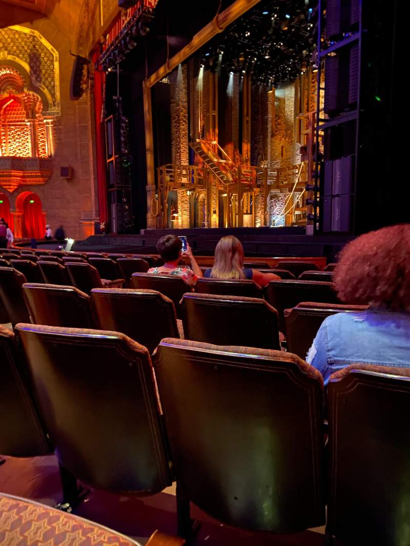 Seating view for Fox Theatre (Atlanta) Section Orchestra R Row H Seat 12