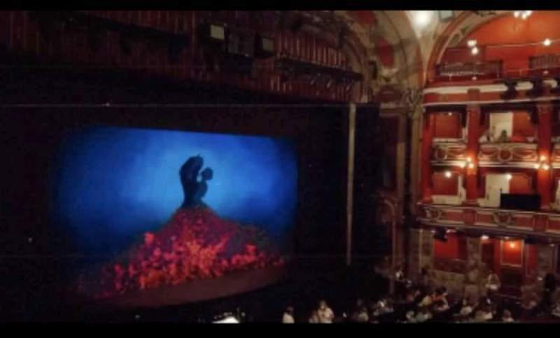 Seating view for Bristol Hippodrome Section Grand Circle Row C Seat 42
