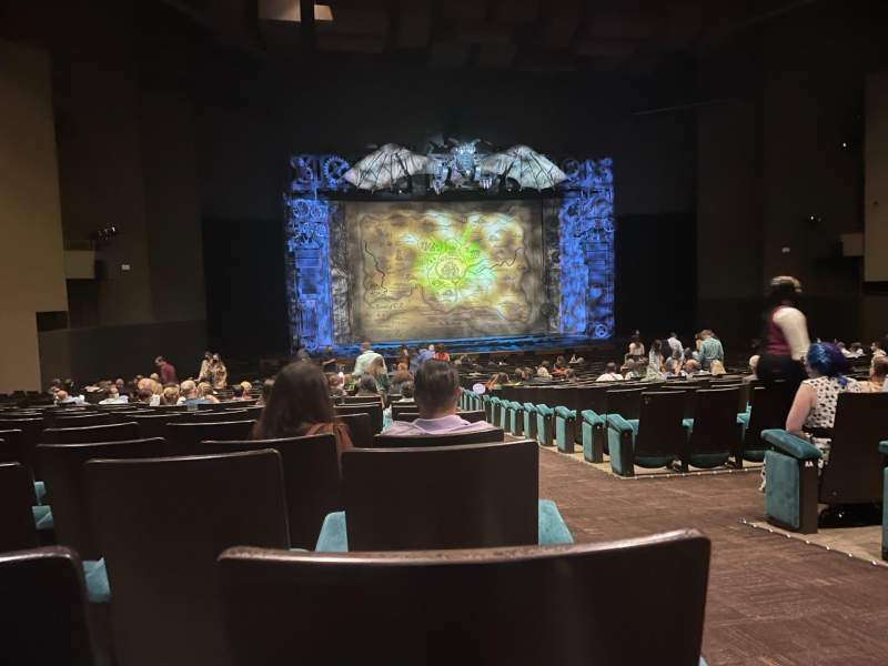 Seating view for Music Hall at Fair Park Section E-Rear Row EE Seat 1