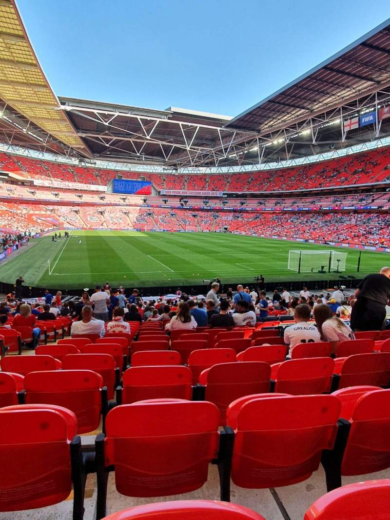 Seating view for Wembley Stadium Section 137 Row 27 Seat 66