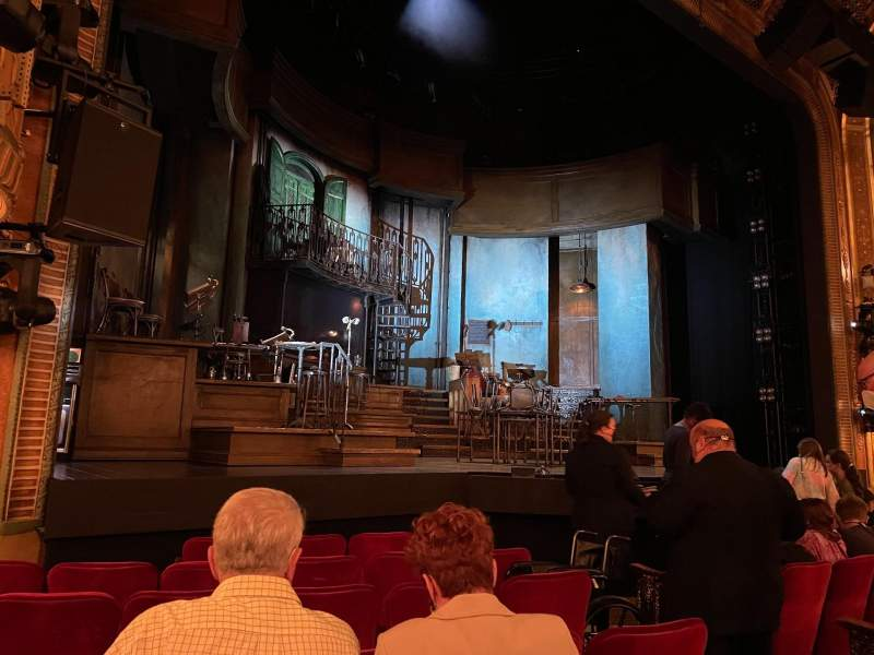 Seating view for Walter Kerr Theatre Section Orchestra L Row H Seat 9