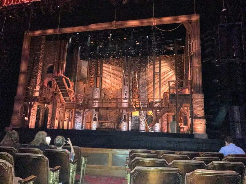 Seating view for Fox Theatre (Atlanta) Section Orchestra RC Row G Seat 52