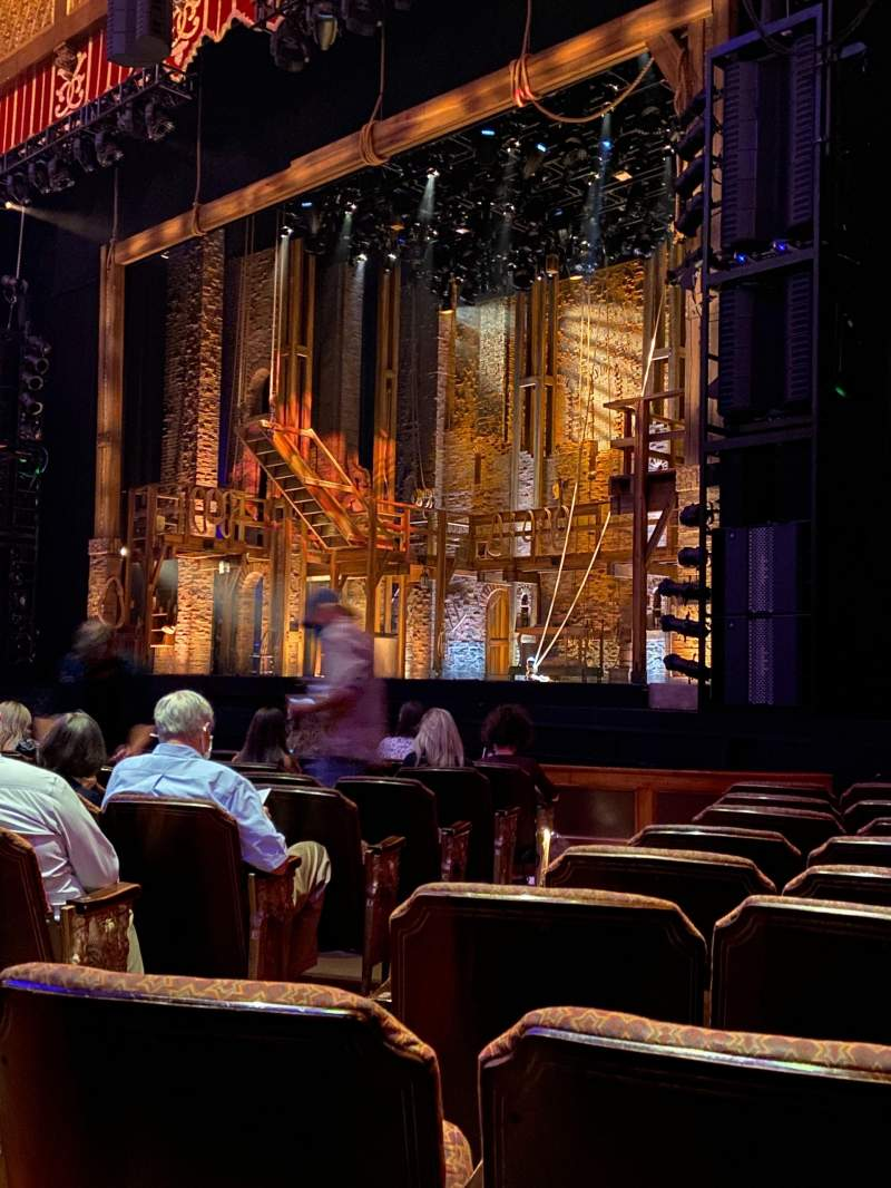 Seating view for Fox Theatre (Atlanta) Section Orchestra R Row K Seat 6
