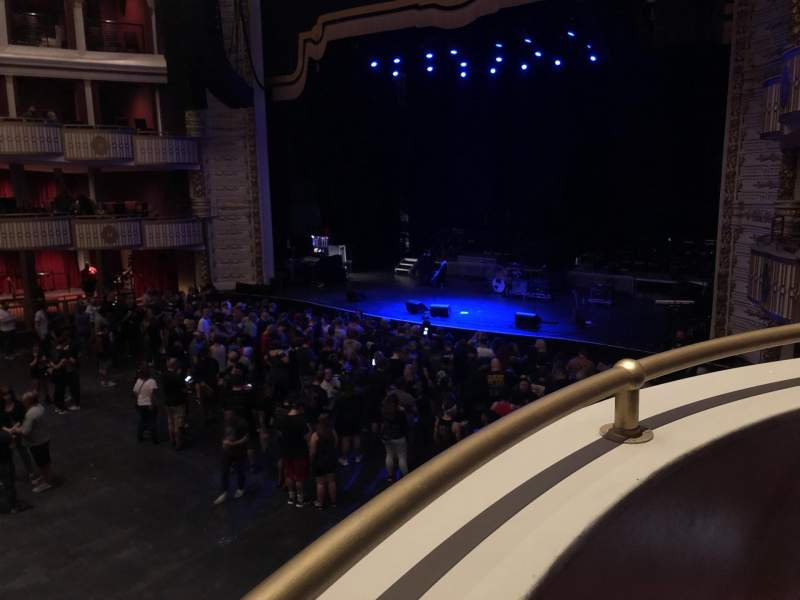 Seating view for The Met Philadelphia Section GBox Row A Seat 3