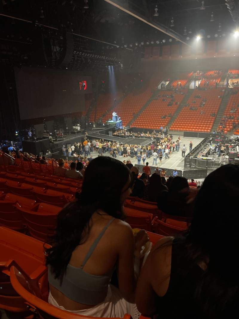 Seating view for Don Haskins Center Section E Row 24 Seat 4