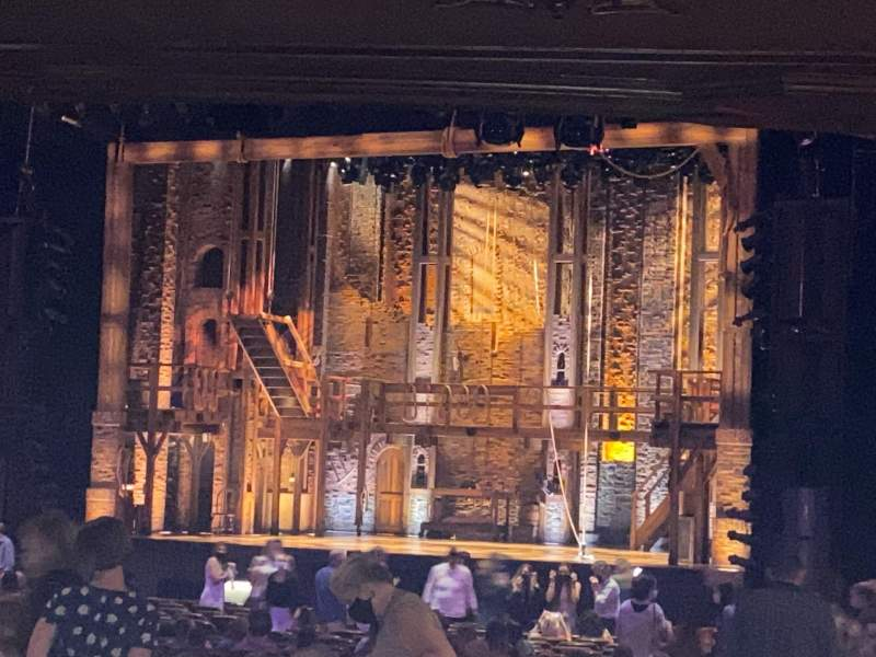 Seating view for Fox Theatre (Atlanta) Section Orchestra R Row KK Seat 8