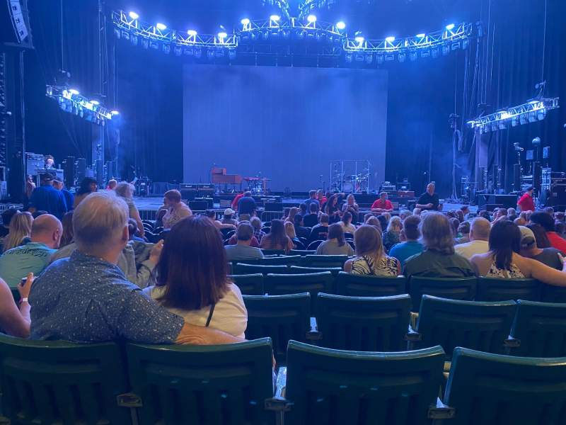 Seating view for DTE Energy Music Theater Section CTR2 Row I Seat 17