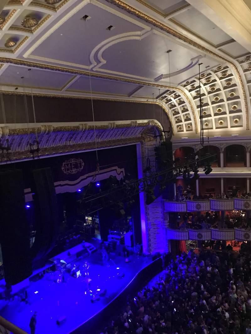 Seating view for The Met Philadelphia Section Mezzanine box 4