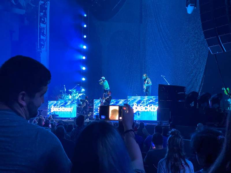 Seating view for PNC Music Pavilion Section 1 Row O Seat 10