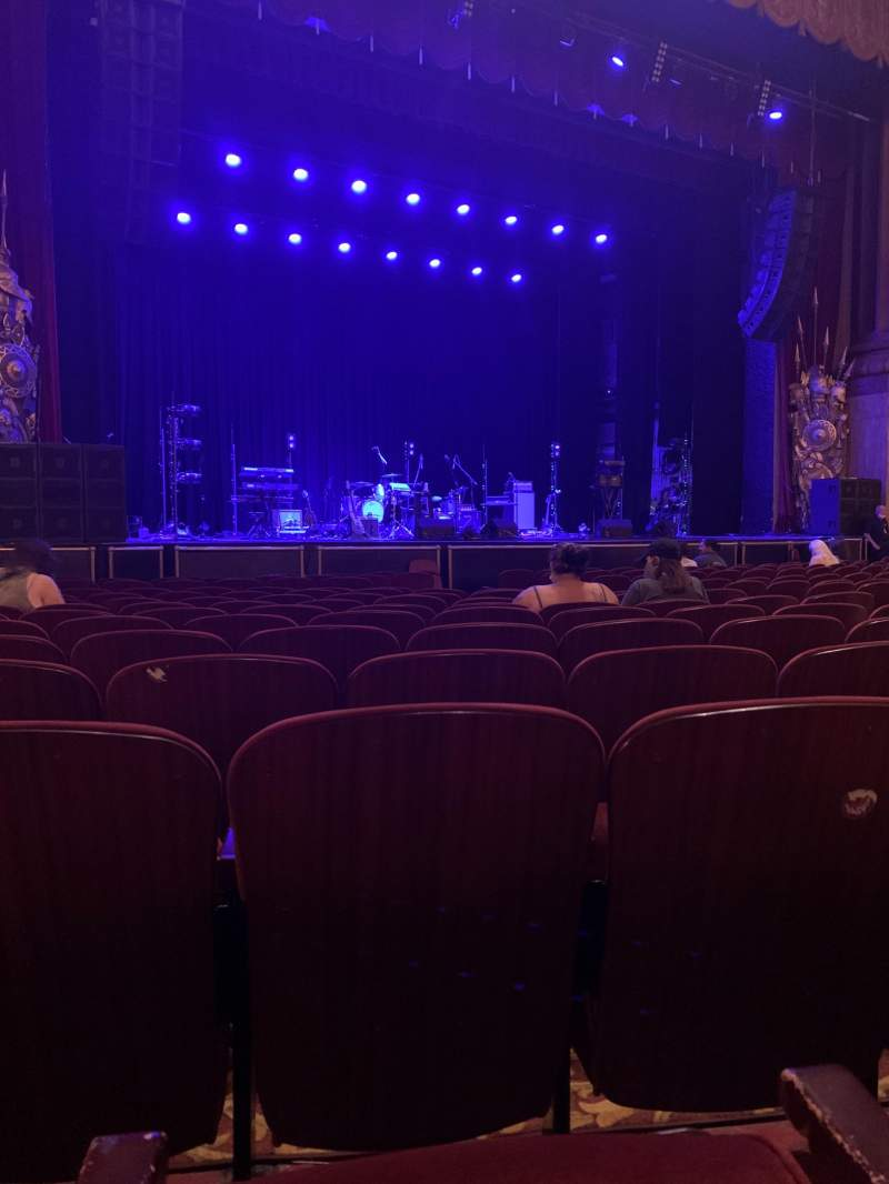 Seating view for Beacon Theatre Section Orchestra Row K Seat 21
