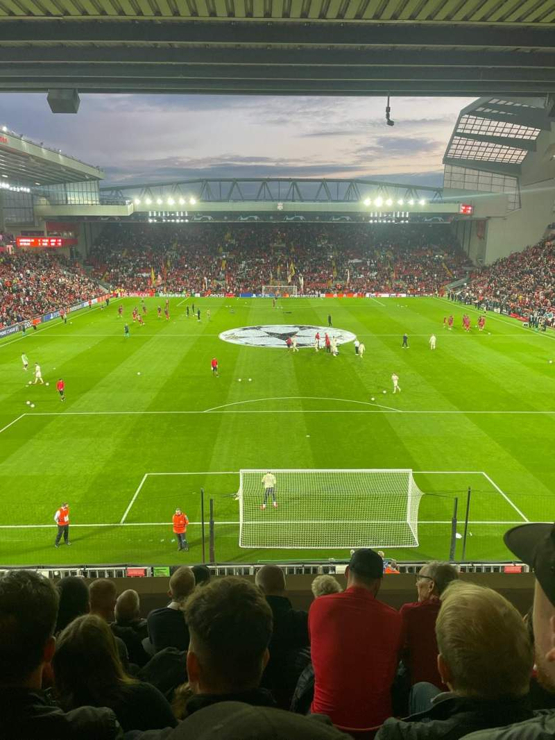 Seating view for Anfield Section 225 Row 7 Seat 115