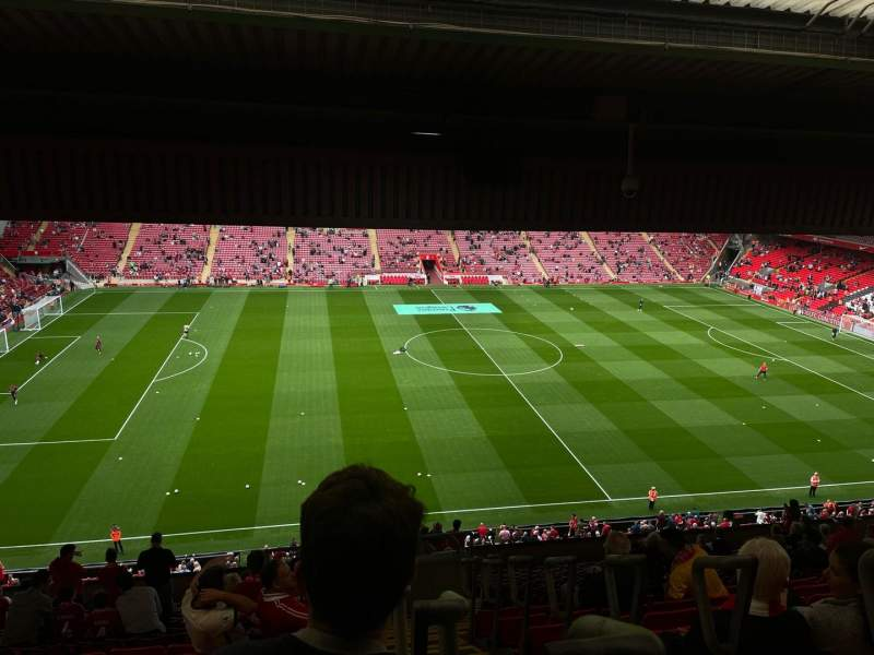 Seating view for Anfield Section Ce7 Row 21 Seat 171