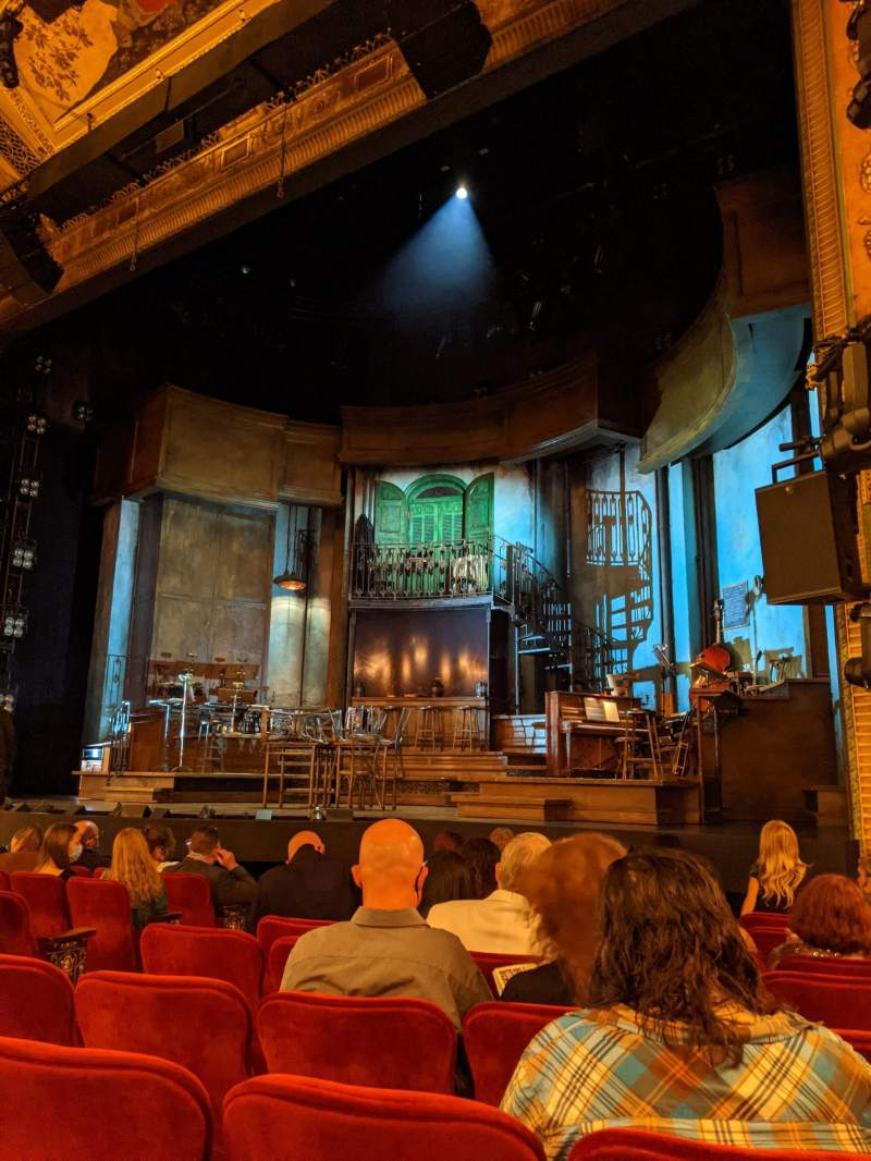 Seating view for Walter Kerr Theatre Section Orchestra R Row K Seat 12